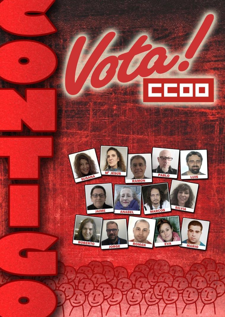 Vota CCOO.Fotos